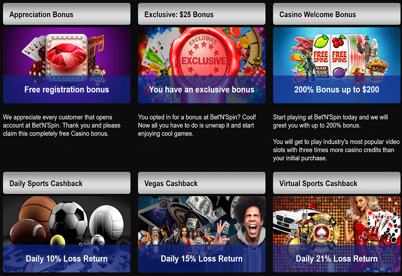 Bet'N'Spin Casino Promotion