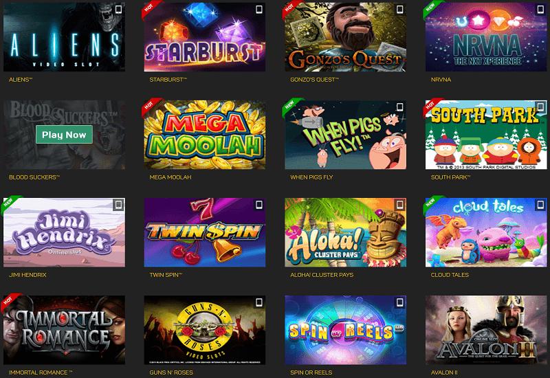 Betfinal Casino Video Slots