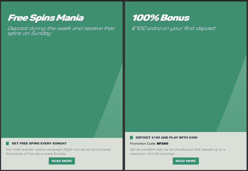 Betfinal Casino Promotion