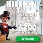 Billion Casino Bonus And  Review  Promotions