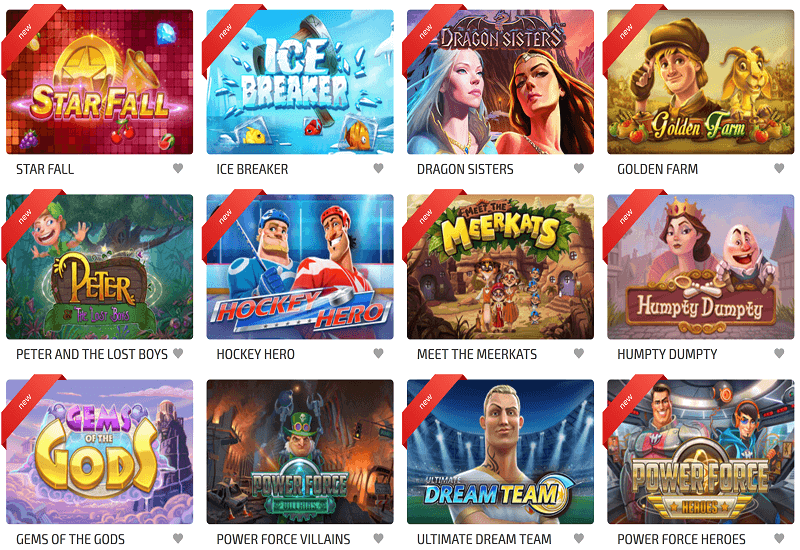 BoaBoa Casino Video Slots