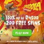Casoola Casino Bonus And  Review  Promotion