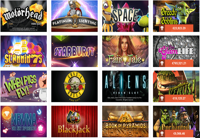 Das ist Casino Video Slots