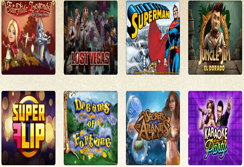 Everum Casino Video Slots