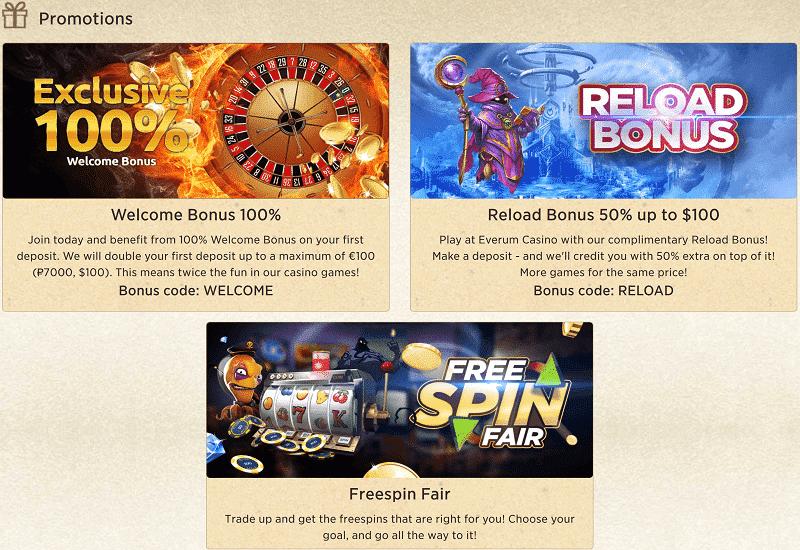 Everum Casino Promotion