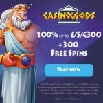 Casino Gods Bonus And  Review  Promotion