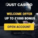 Just Casino Bonus And  Review News