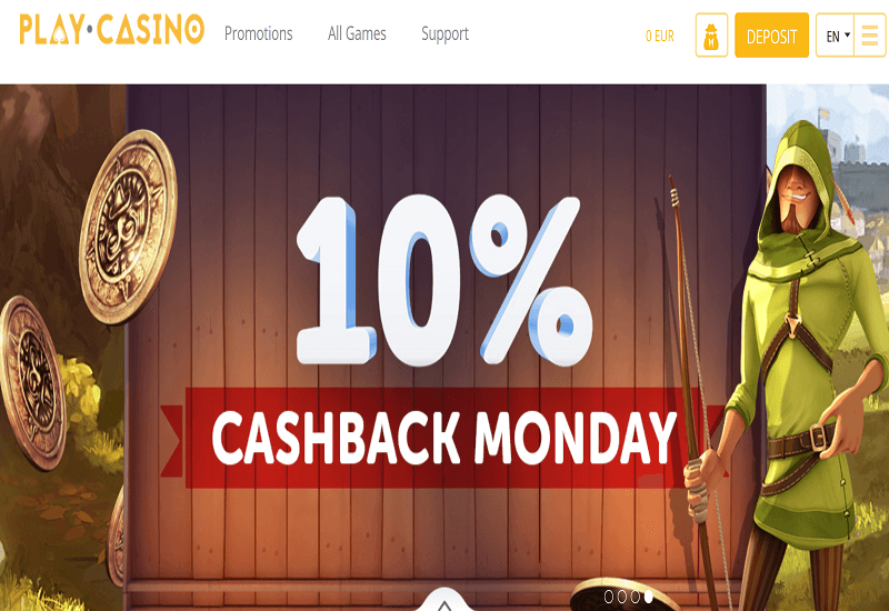 Play. Casino Home Page