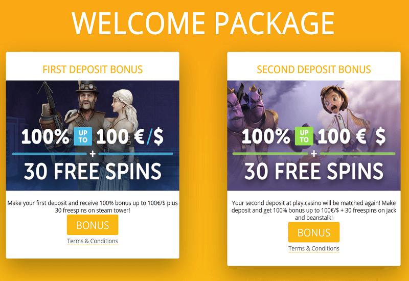 Play. Casino Promotion