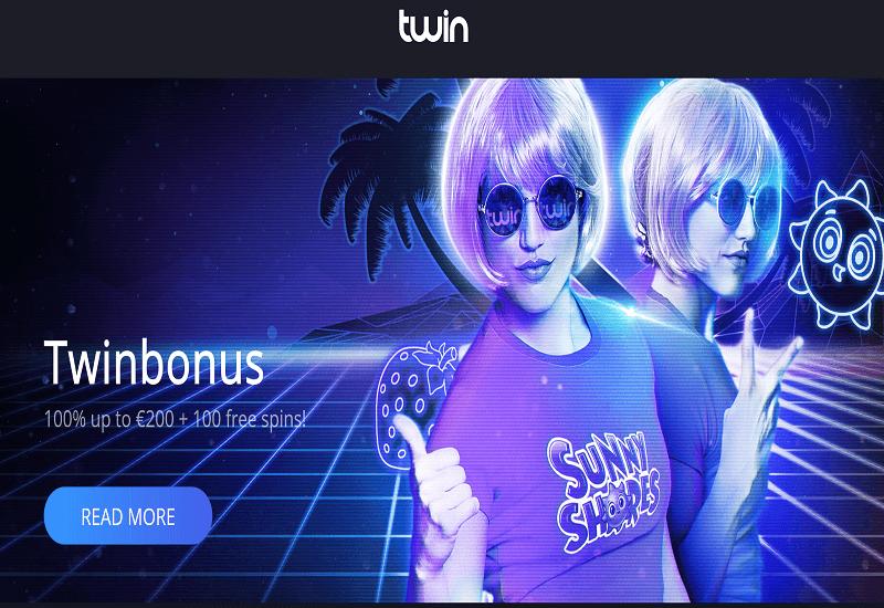 Twin Casino Home Page