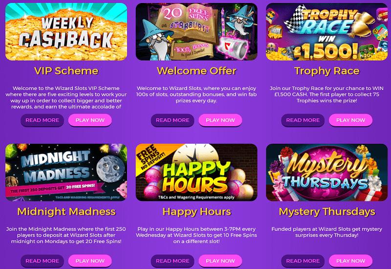 Wizard Slots Casino Promotion