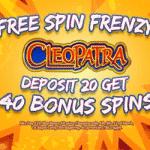 Deposit 20 - get 40 bonus spins from Arctic Spins
