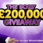 Head to BGO for The Boss' £200,000 Giveaway