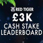 £3K Cash Stake Leaderboard - Bonzo Spins