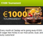 €1000 Tournament - April 2019 with CasDep