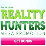 CasinoLuck Mega Promotion: Reality Hunters