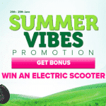 The Summer Vibes promotion by CasinoLuck