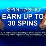 Spin-Tastic: 30 Bonus Spins from Cloud Casino