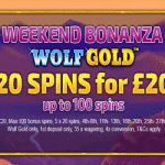 Weekend Bonanza: January 2019 at Cloud Casino