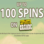 CoinFalls offers up to 100 Spins on Spinata Grande