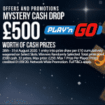 Cosmic Spins & Play'n GO Mystery Cash Drop