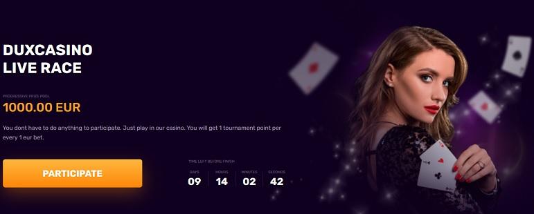 Dux Casino Promotion
