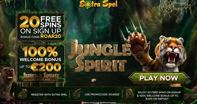 Extra Spel bonus + free spins