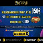 Goldman Casino: €950 Bonus & 10 Free Spins