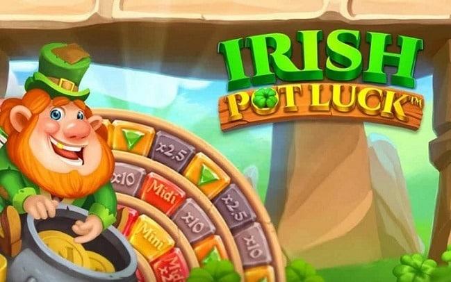 Irish Pot Luck Video Slot - NetEnt