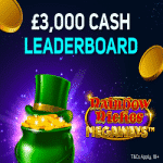 Magical Vegas Casino: £3,000 Leaderboard
