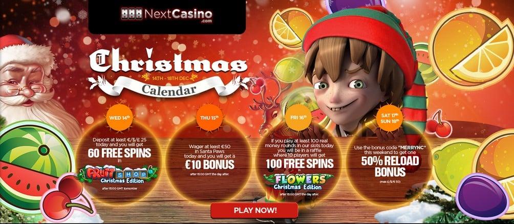NextCasino bonuses & free spins