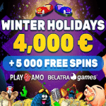 PlayAmo returns with €4000 & 5000 Free Spins