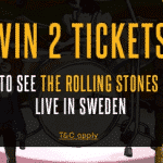 See the Rolling Stones play live in Sweden thanks to casino ShadowBet