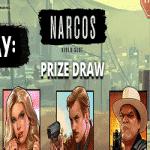 Casino Slingo is hosting the Narcos Prize Draw