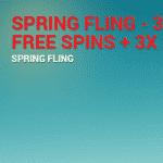 Spring Fling Bonus Free Spins - Top UK Casino