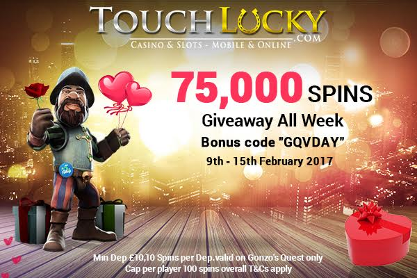 Touch Lucky Casino free spins