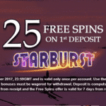 Up to 55 Free Spins on multiple NetEnt games at Vegas Mobile Casino